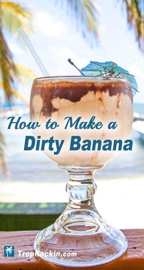 Dirty Banana Drink Recipe