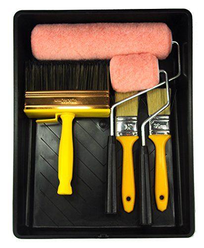 Bates Paint Roller Paint Brush Paint Tray Roller Paint Brush 9 Piece Home Painting Supplies Foam Brush House Painting Tray Painting Tools Roller And Pa Wall Paint Brush Paint Roller Painted Trays