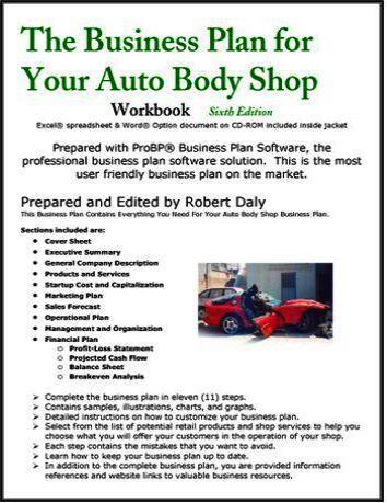Autobody business plan write a letter to oprah site oprah com