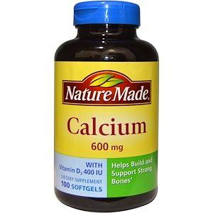 Nature Made ビタミンd3入りカルシウム 600 Mg ソフトジェル100錠 Vitamins Vitamin D Calcium Good Foods To Eat
