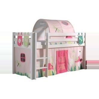 90x200 Diy Crafts To Sell Christmas Fruhling Hochbett Kiefer Massiv Pino Roller Taschen Tunnel Vorhang Weiss Hochbett P In 2020 Storage Toy Chest Home Decor