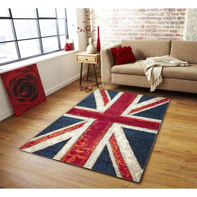 Round union jack Rugs Living Room Bedroom Area Rugs Carpet Bedroom Mat 7 Colour