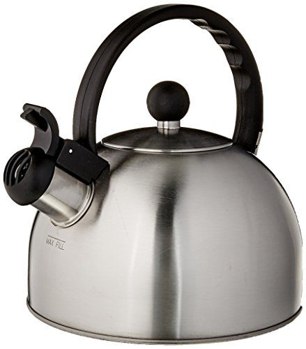 Metal Kettle Brushed Stainless Steel