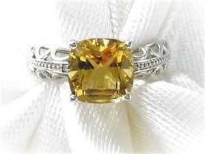 10k White Gold Citrine Diamond Ring Gordon Jewelers In 2020 Citrine Ring Diamond Citrine