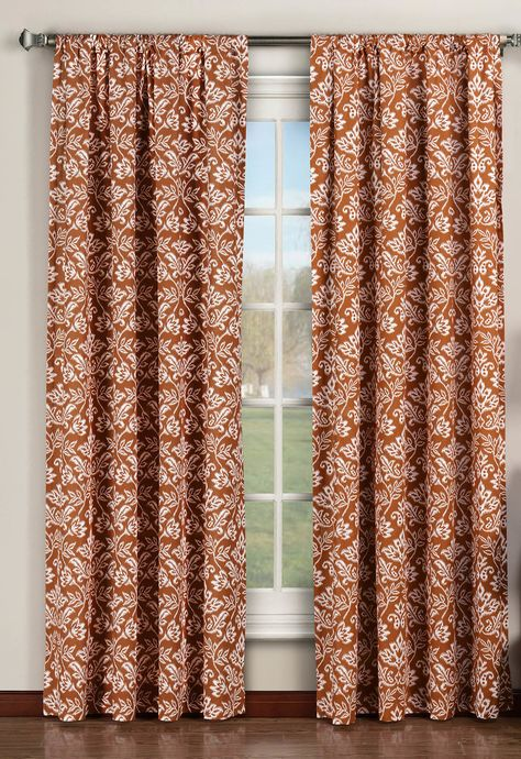 Victoria Nature Floral Sheer Curtain Panels