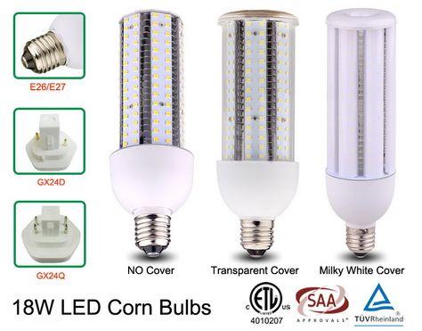 Etl Saa Tuv Certified 18w Led Corn Light Bulbs Led Lights Led Bulb