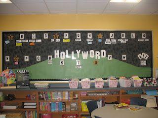 Hollywood Theme Board