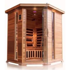 Pin By Houux On Https Allurebath Com Sauna Wood Stove Infrared Sauna Steam Sauna