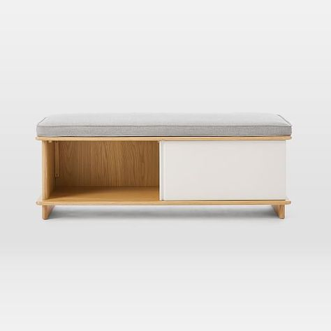 Pleasant Loring Storage Bench Vintage Oak Project 62 Cjindustries Chair Design For Home Cjindustriesco