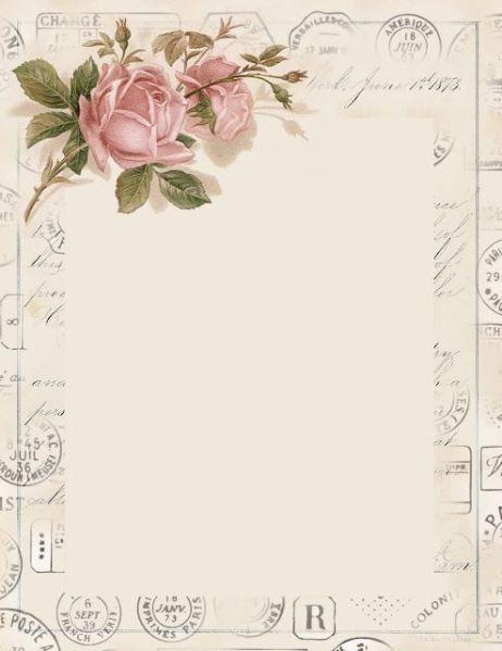 Love Letter Paper Vintage Paper Printable Vintage Stationary