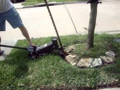 Remove Metal Fence Posts Or Tree Stakes Under A Minute Youtube Metal Fence Posts Metal Fence Tree Stakes