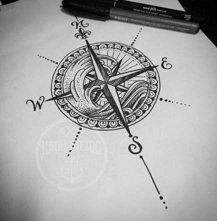 29 Ideas Tattoo Femininas Rosa Dos Ventos #tattoo