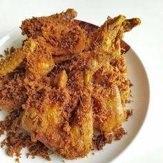 Resep Masakan Nusantara Ayam Goreng Serundeng Lengkuas Di 2021 Resep Masakan Masakan Resep
