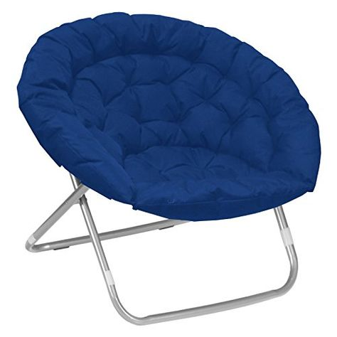 Moon Saucer Chair Best Gaming For The Money Oversized Chairs Kids Teens Adults Large Folding Padded Portable Bundle Includes 2 In 1 Stylus Pen From Designer Home Blue
