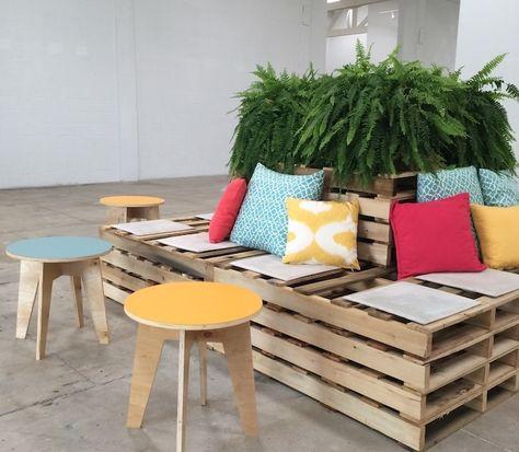 1001 Idees Pour Creer Un Beau Salon De Jardin En Palette