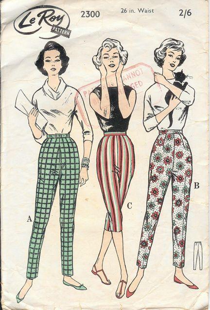 patterned pants!