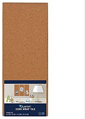 Amazon Com Quartet Modular Natural Frameless Bulletin Board 5 5 X 14 Inches Cork 48110 Office Products Cork Board Cork Tiles Cork