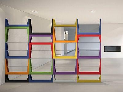 Libreria contemporanea, Librerie moderne, Mobili porta libri ...