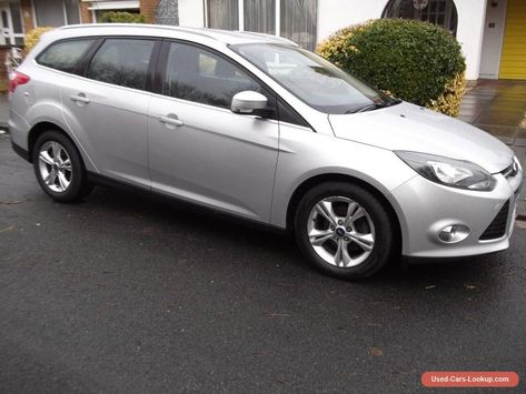 2012 Ford Focus Zetec 1 6 Tdci Estate In Silver Ford Focuszetec