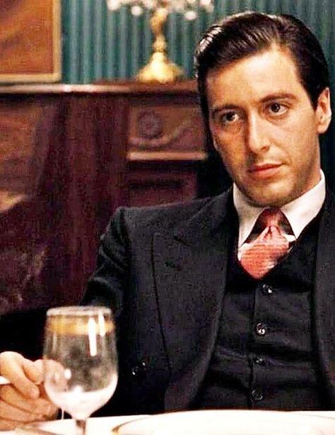 Die Zeitlose Slicked Back Frisur Filmstars Der Pate Und Al Pacino