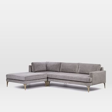 Andes 3 Piece Chaise Sectional Reclining Sectional With Chaise