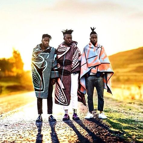 "afrikani: "" Lesotho, The tradition of wearing a Basotho blanket continues into the century. Image by: I SEE A DIFFERENT YOU - A trio collective from Soweto, portraying South Africa as they."