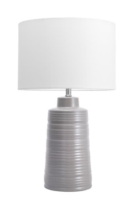 Alva 27 Inch Uriel Ceramic Table Lamp Light Gray Lamp Table Lamp Ceramic Table Lamps Table Lamp Lighting