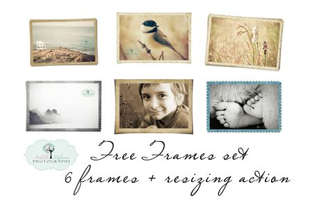 Frames, Actions, Textures, Presets