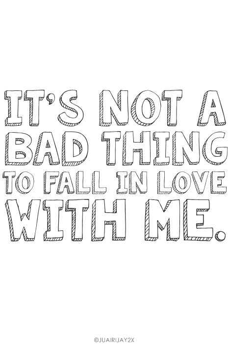 In Me To Bad Fall With Love A Not Thing