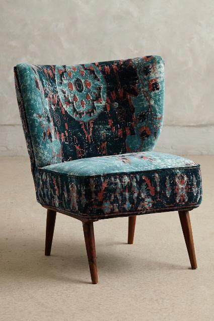 Dhurrie Petite Accent Chair Chair Occasional Chairs Furniture
