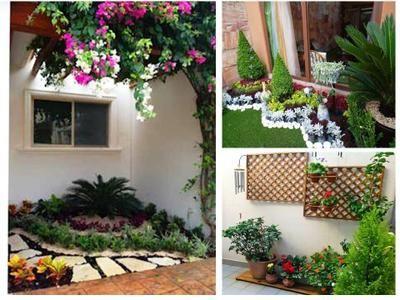 Ideas Para Jardines Pequenos En Casa Sin Necesidad De Mucho Espacio Plants Outdoor Structures Outdoor