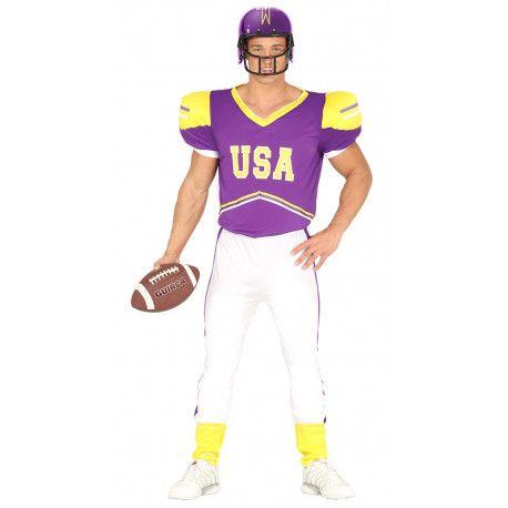 Disfraz De Quarterback De Fútbol Americano Comprar Online Disfraces Para Adultos Americanas Para Hombre Jugadores De Rugby