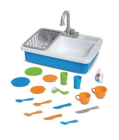 Spark Create Imagine Kitchen Sink Play Set Designed For Ages 3 Walmart Com Playset Kitchen Sink Sink