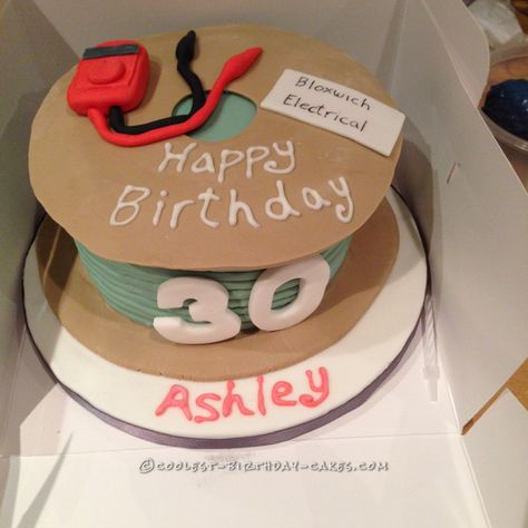 Cool Electrical Cable Cake... Coolest Birthday Cake Ideas