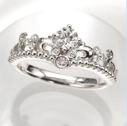 fabulous disney inspired wedding rings perfect for a disney princess future disney weddings and ring - Disney Engagement Rings And Wedding Bands