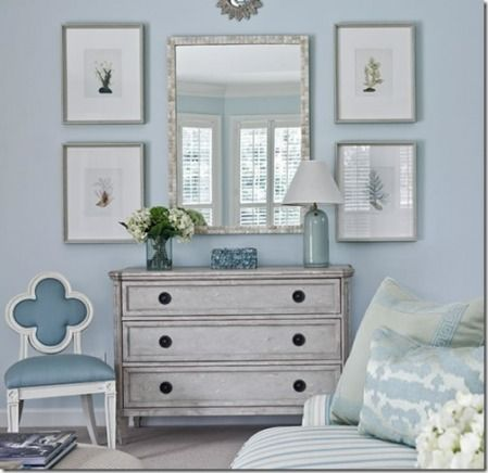 Living Room Blue Dresser Eclectic Home Decor Ideas Suzanne Kasler Decorating EasyPin