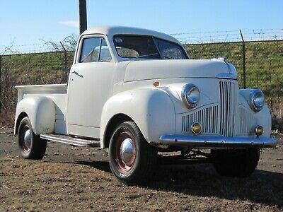 1947 Studebaker M5 White Pickup Truck Old Trucks For Sale