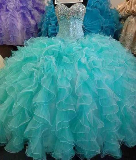 Glittering Sequins Crystal Blue Quinceanera Dresses 2015 New Real Image Sweetheart Lace Up 16 Years Princess Prom Dress Custom Made Online with $146.08/Piece on Gaogao8899's Store   DHgate.com