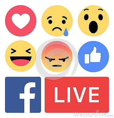 Facebook Emoji Like Live Love New Buttons Vector Download Eps Download Logo Facebook Svg Eps Png Psd Ai Ve Facebook Logo Png App Store Icon Logo Icons