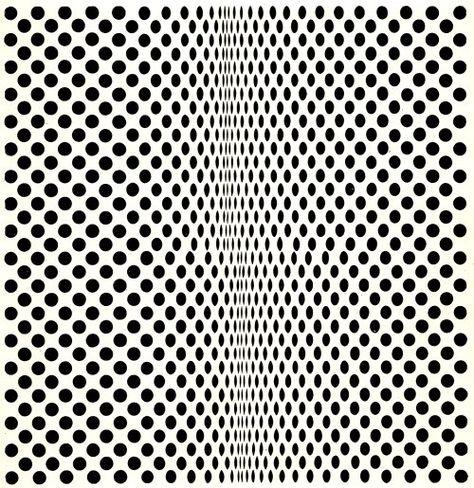 Fission, Bridget Riley, 1963. Tempera on board 89 x 86 cm.