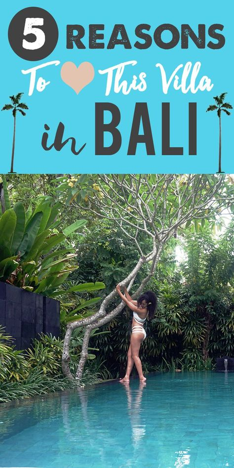 Best private villa in Bali: