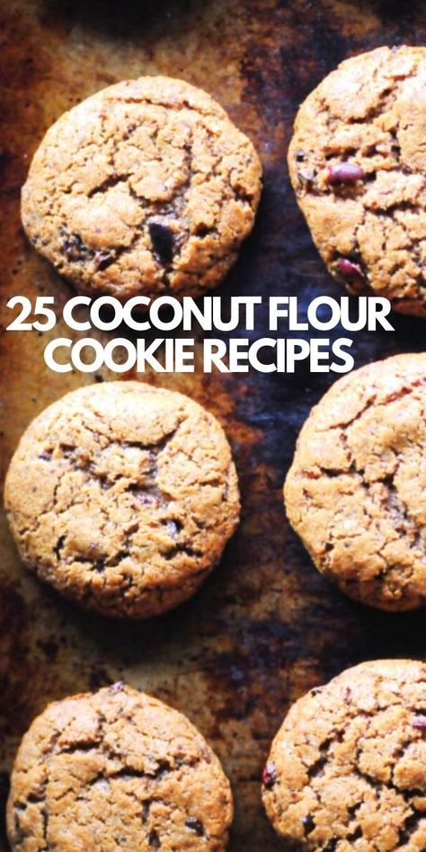 25 Amazing Recipes For Coconut Flour Cookies You Must Try With