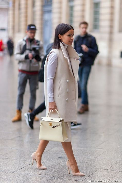Miroslava Duma - Paris Fashion Week Fall 2014 Street Style - Fashion New Trends