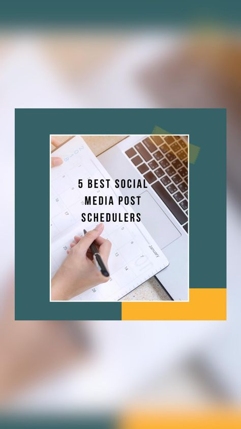 Social Media Scheduling App   Social Media Scheduling