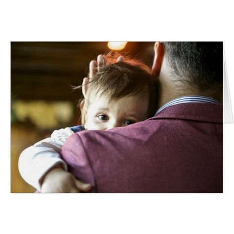 Father and Baby Card #cards #christmascard #holiday