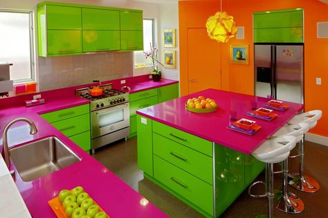 Cooking up a colorful kitchen