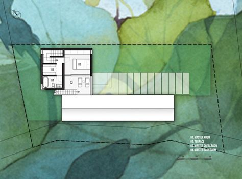 Casa W+,Planta Segundo Nivel