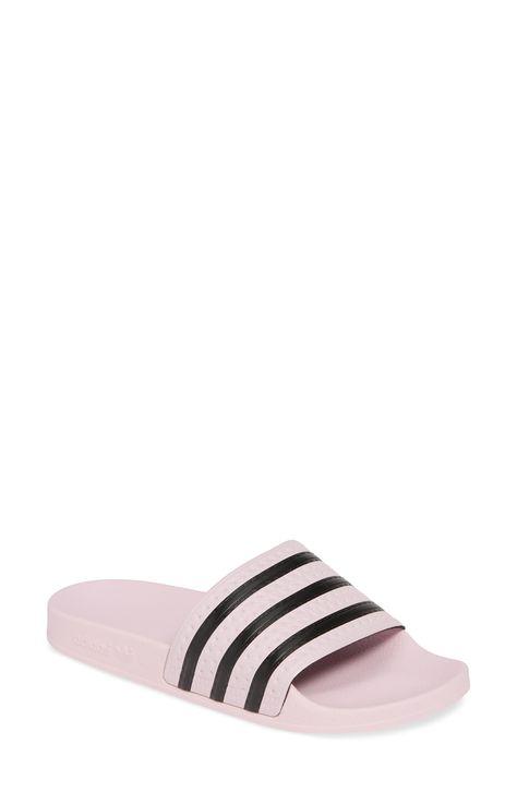 Women's Adidas 'Adilette' Slide Sandal, Size 6 Women's 5