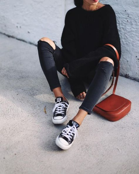 50+ Fashion Hacks That Will Show You How To Wear Converse