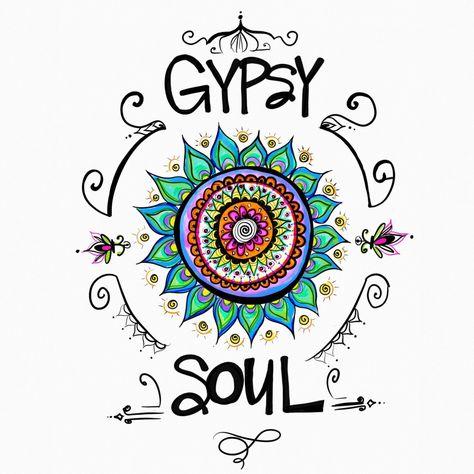 Gypsy Soul Laptop & Ipad Skin by Hipsy Gypsy - MacBook / Pro / Air